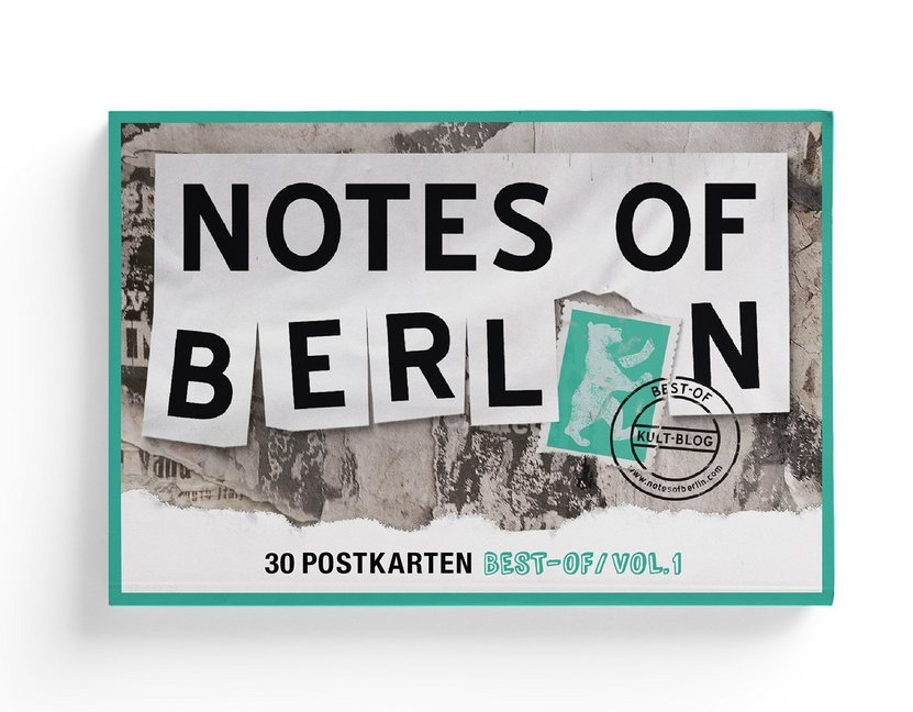Cover Notes of Berlin Postkartenbuch