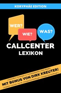 Cover Callcenter Lexikon