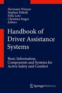Cover Handbook of Driver Assistance Systems