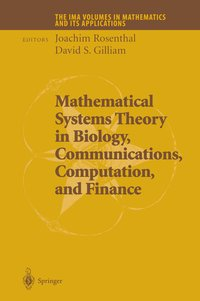 Cover Mathematical Systems Theory in Biology, Communications, Computation and Finance