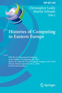 Cover Histories of Computing in Eastern Europe