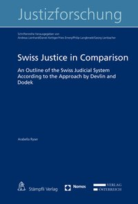 Cover Swiss Justice in Comparison