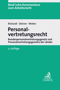 Cover Personalvertretungsrecht