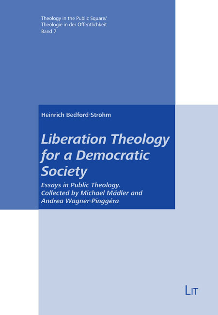 Cover Liberation Theology for a Democratic Society