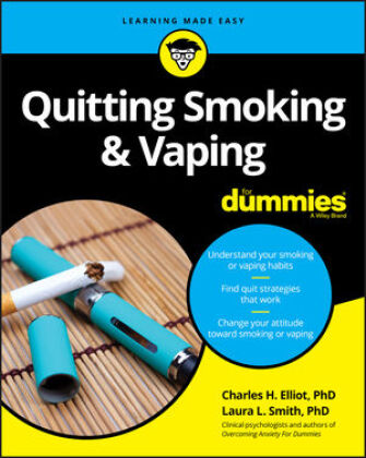Cover Quitting Smoking and Vaping For Dummies