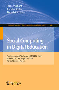 Cover Social Computing in Digital Education
