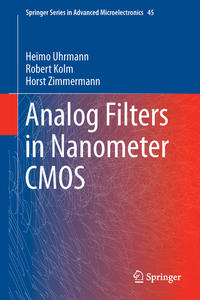 Cover Analog Filters in Nanometer CMOS