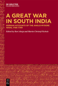 Cover A Great War in South India