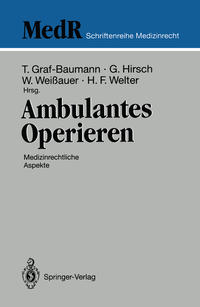 Cover Ambulantes Operieren