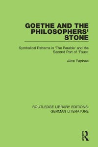Goethe and the Philosopher's Stone
