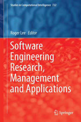Cover Software Engineering Research, Management and Applications