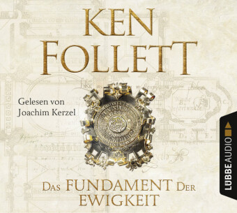 Cover Das Fundament der Ewigkeit, 12 Audio-CDs