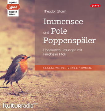 Cover Immensee und Pole Poppenspäler, 1 MP3-CD