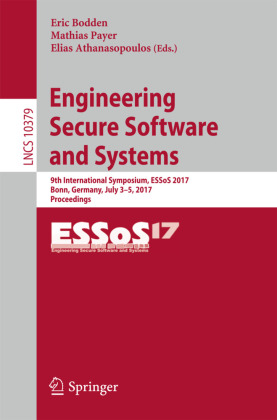 Cover Engineering Secure Software and Systems