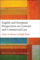 Cover English and European Perspectives on Contract and Commercial Law